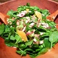 Spinach Salad with Avocado and Toasted Almonds
